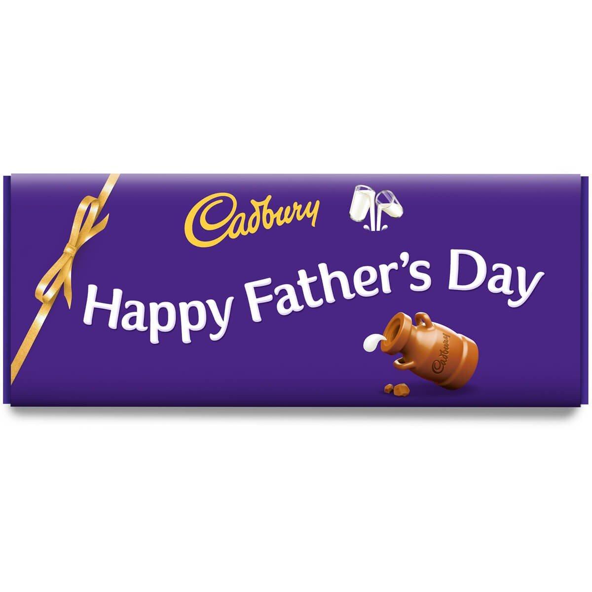Happy Father's Day Dairy Milk Bar 850g