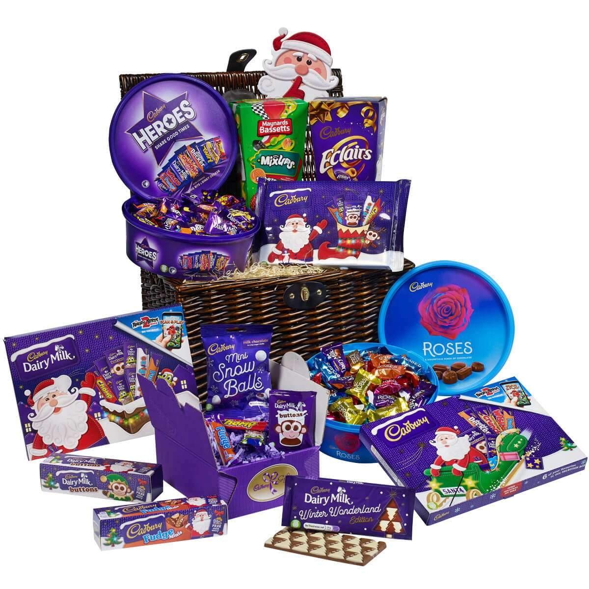 Cadbury Christmas Chocolate Magic Basket