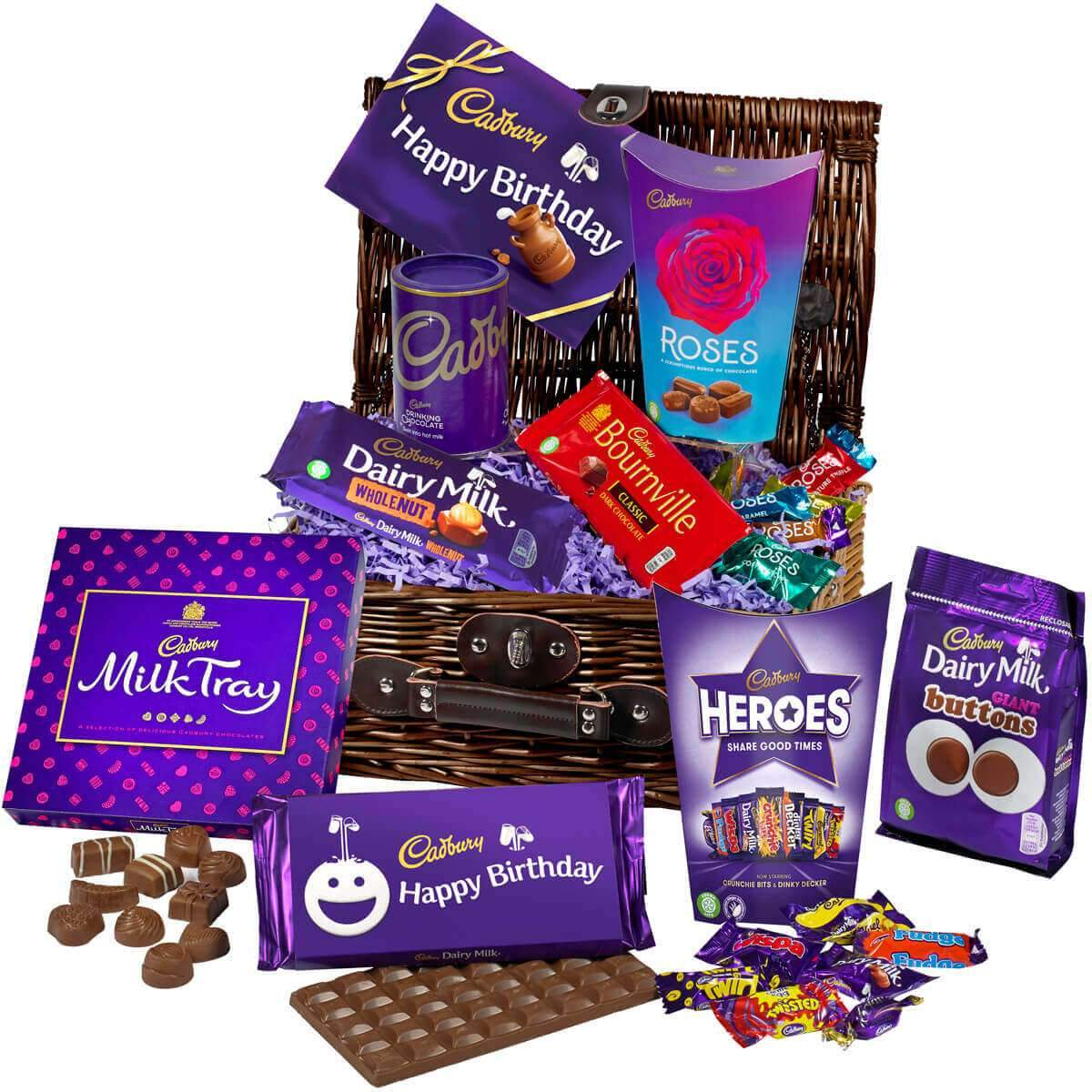 Cadbury Birthday Chocolate Basket
