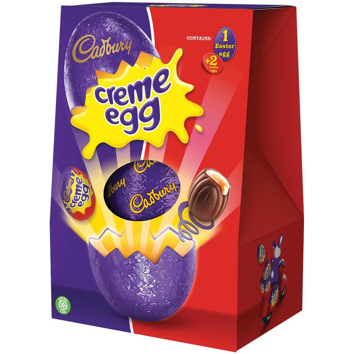 Cadbury Creme Egg Shell Egg 258g Box of 6