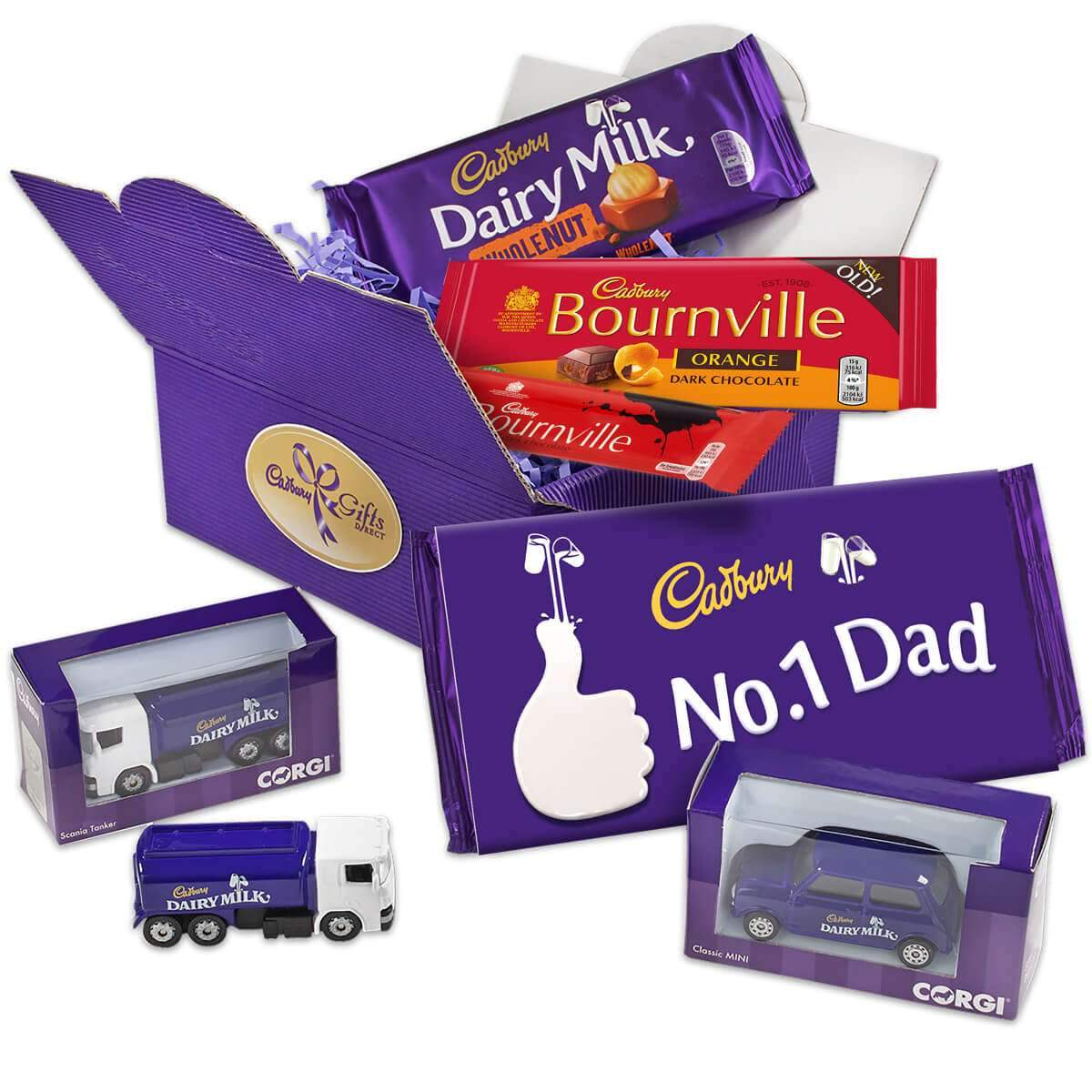 Cadbury Chocolate & Corgi Model Gift