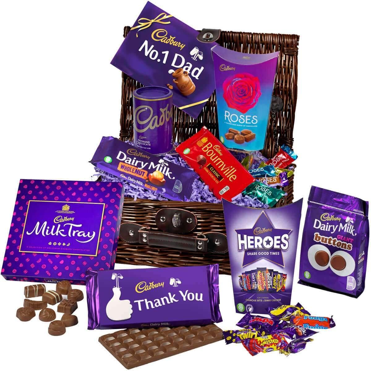 Cadbury Father's Day Chocolate Basket