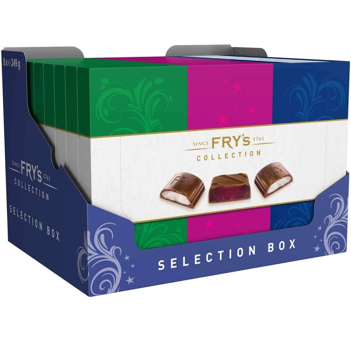 Fry's Selection Box 249g Box of 8