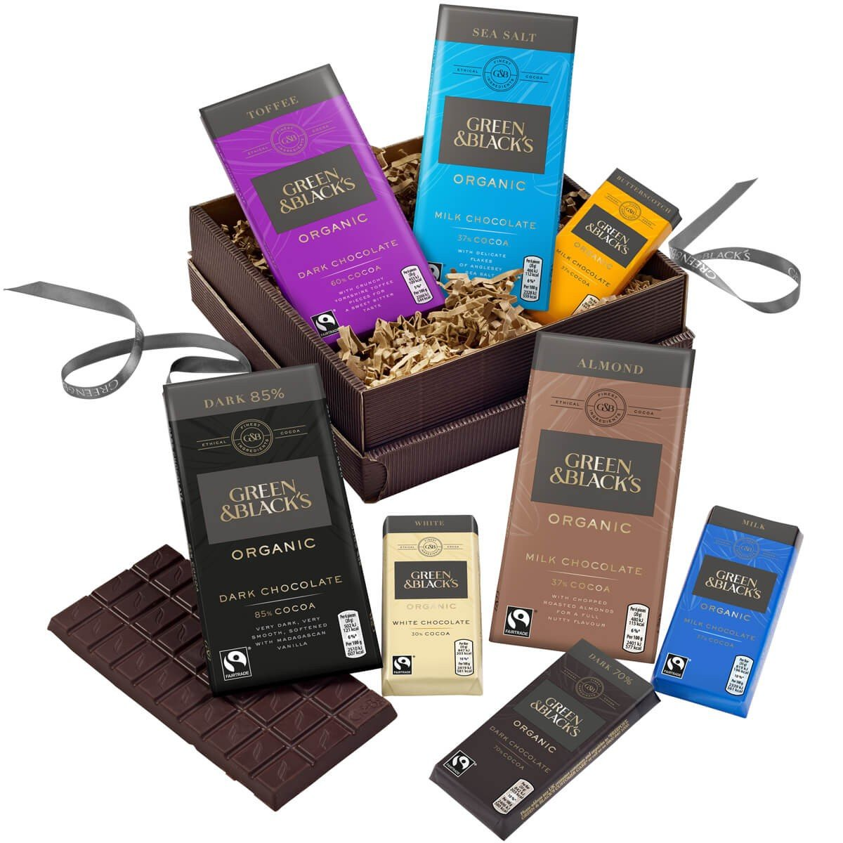 G&B's Milk & Dark Chocolate Basket