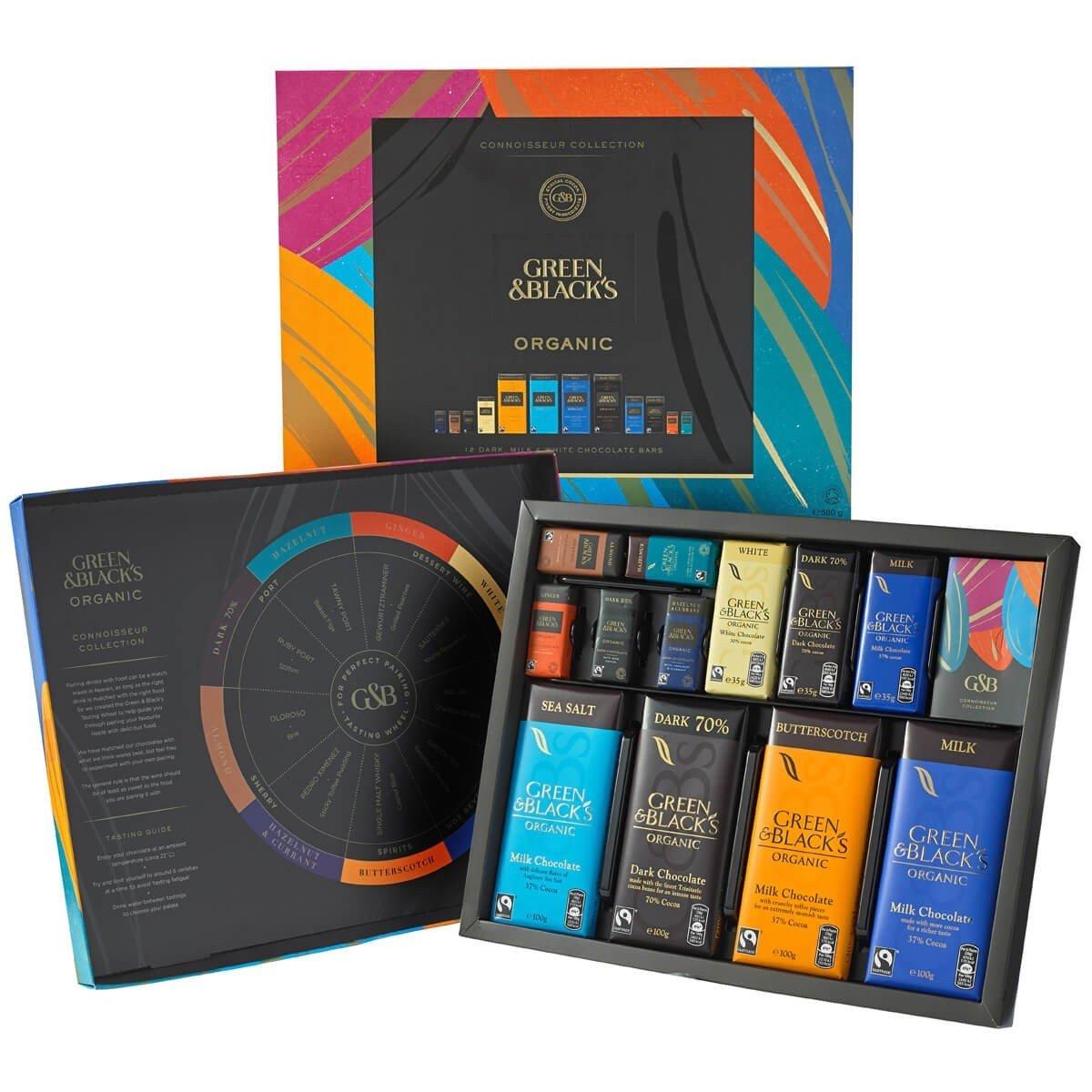 G&B's Dark Chocolate Library Box Collection