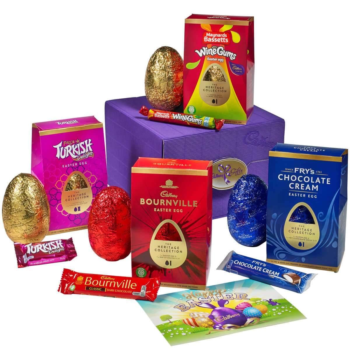 Cadbury Heritage Egg Collection