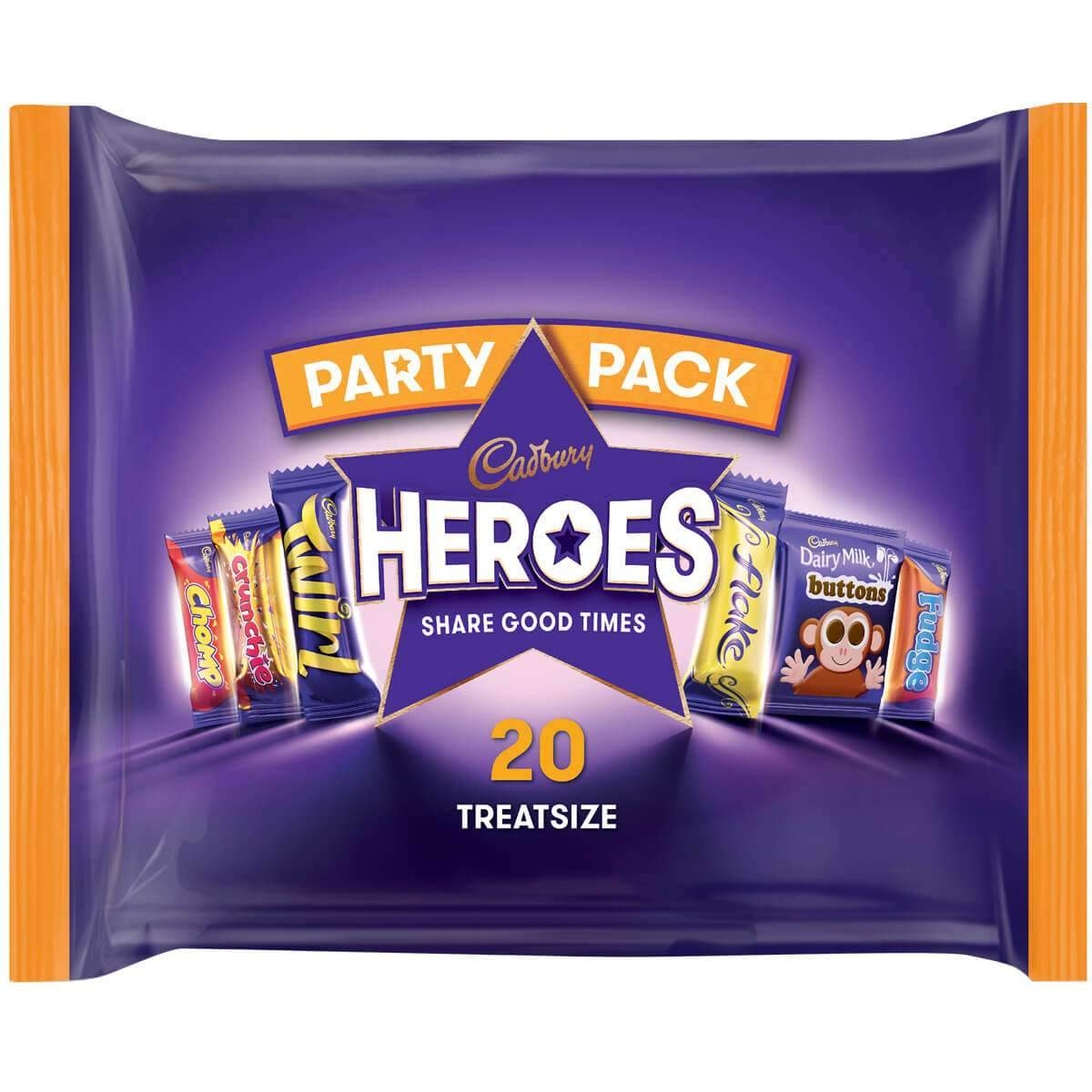 Heroes Family Bag Box of 11