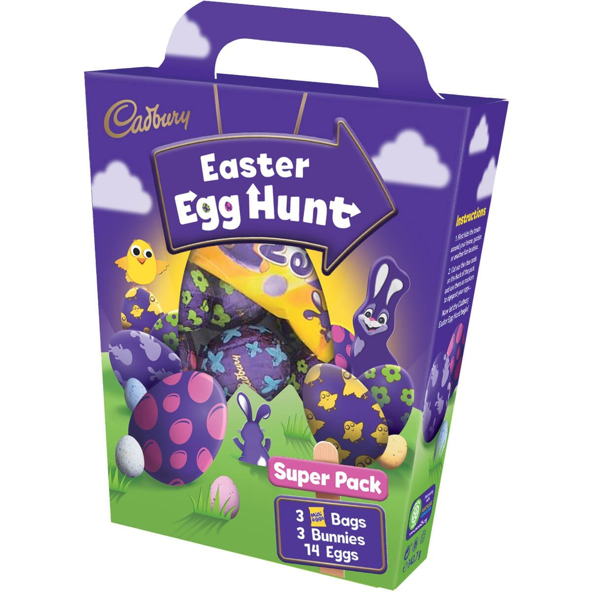 Cadbury Egg Super Hunt Pack 342g Box of 8