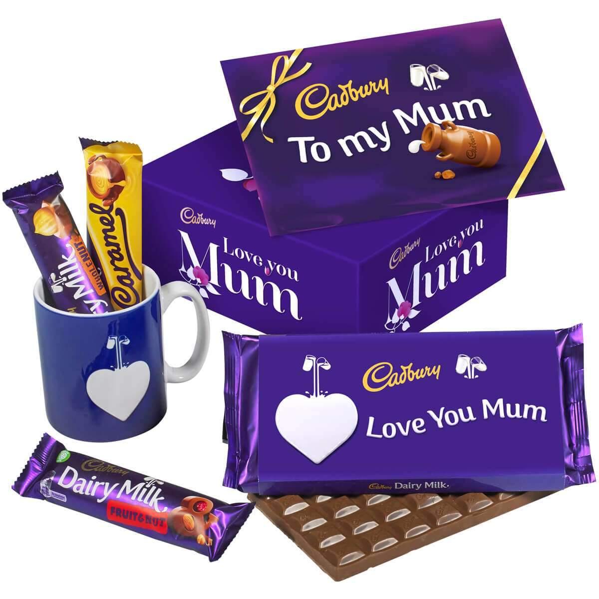 Cadbury Mother's Day Chocolate & Mug Set