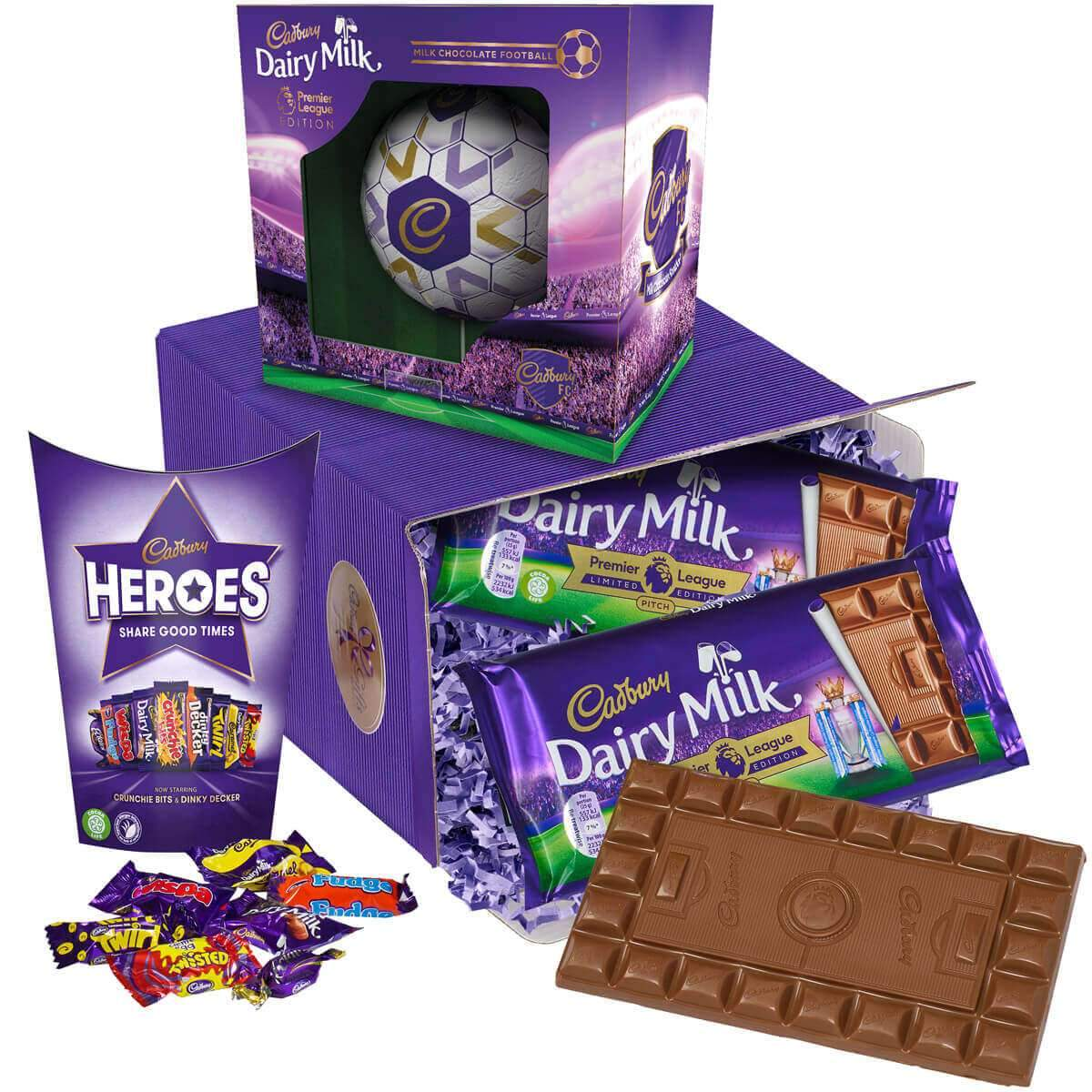 Cadbury Chocolate Football Gift
