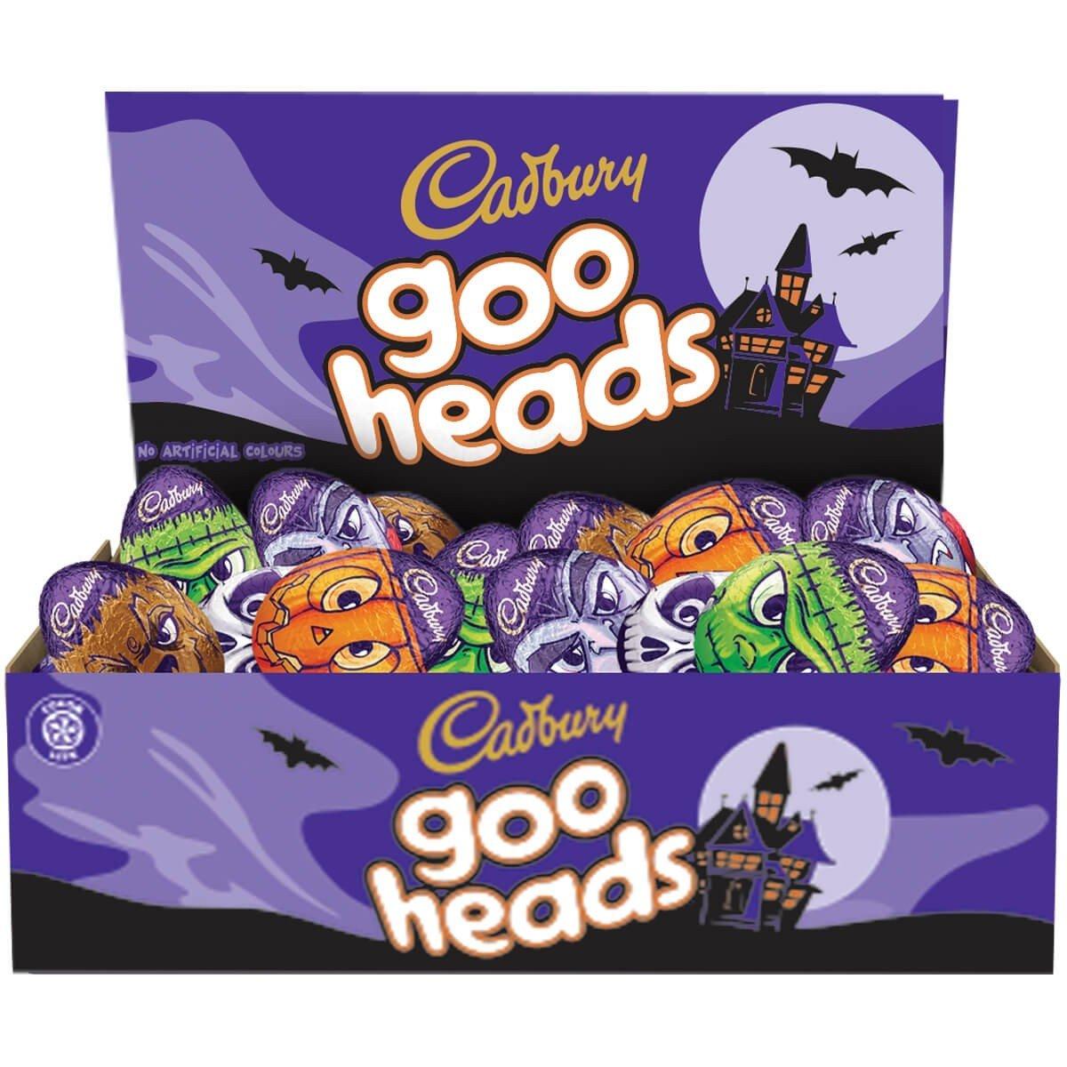 Cadbury Goo Heads Eggs 40g Box of 48
