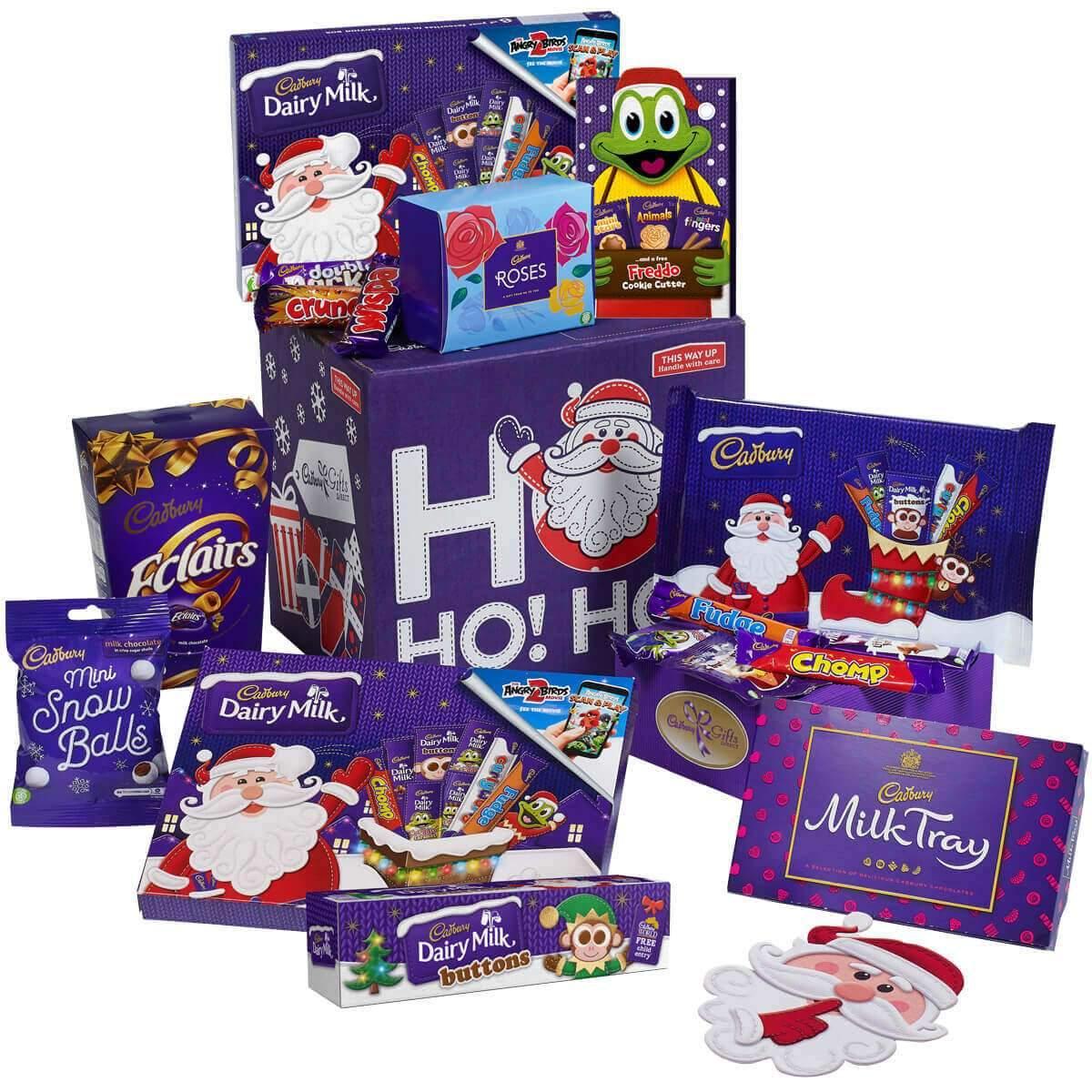 Cadbury Christmas Gold Gift Box