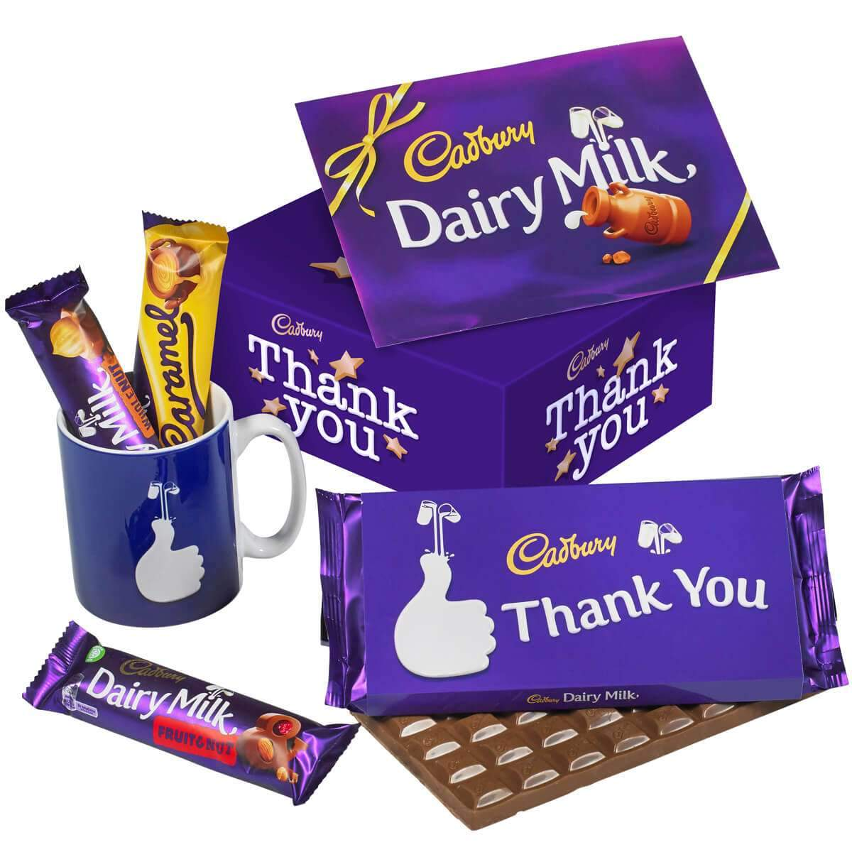 Thank You Chocolate & Mug Set