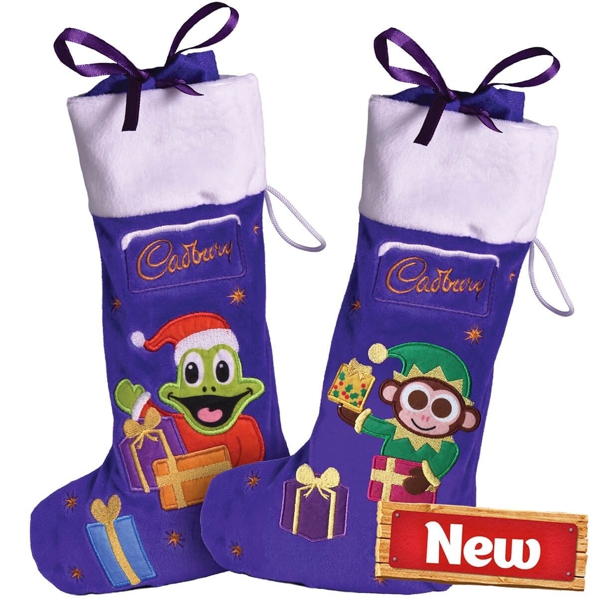 Cadbury Selection Plush Stockings 192g