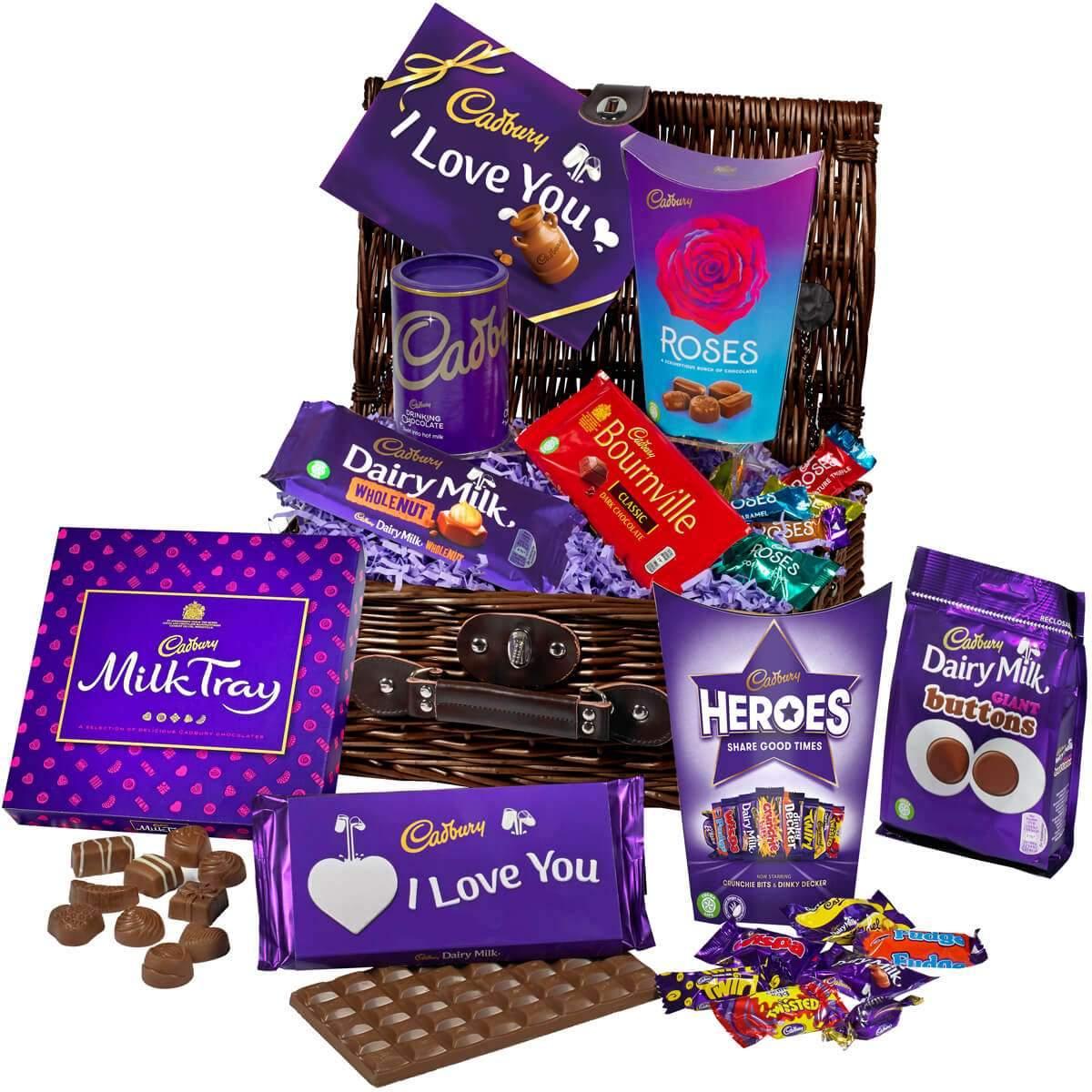 Cadbury Love Chocolate Basket