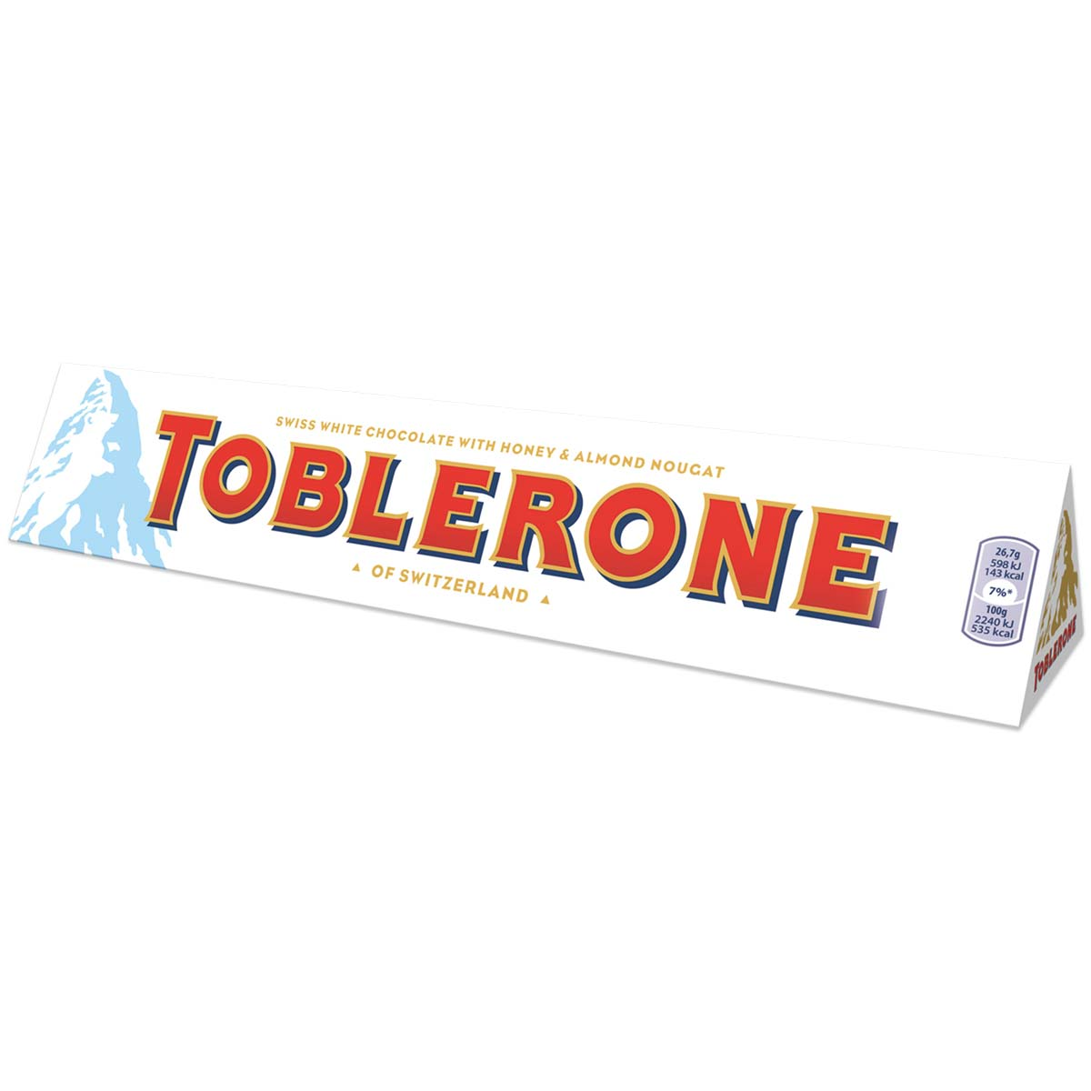 Toblerone White 360g Box of 10