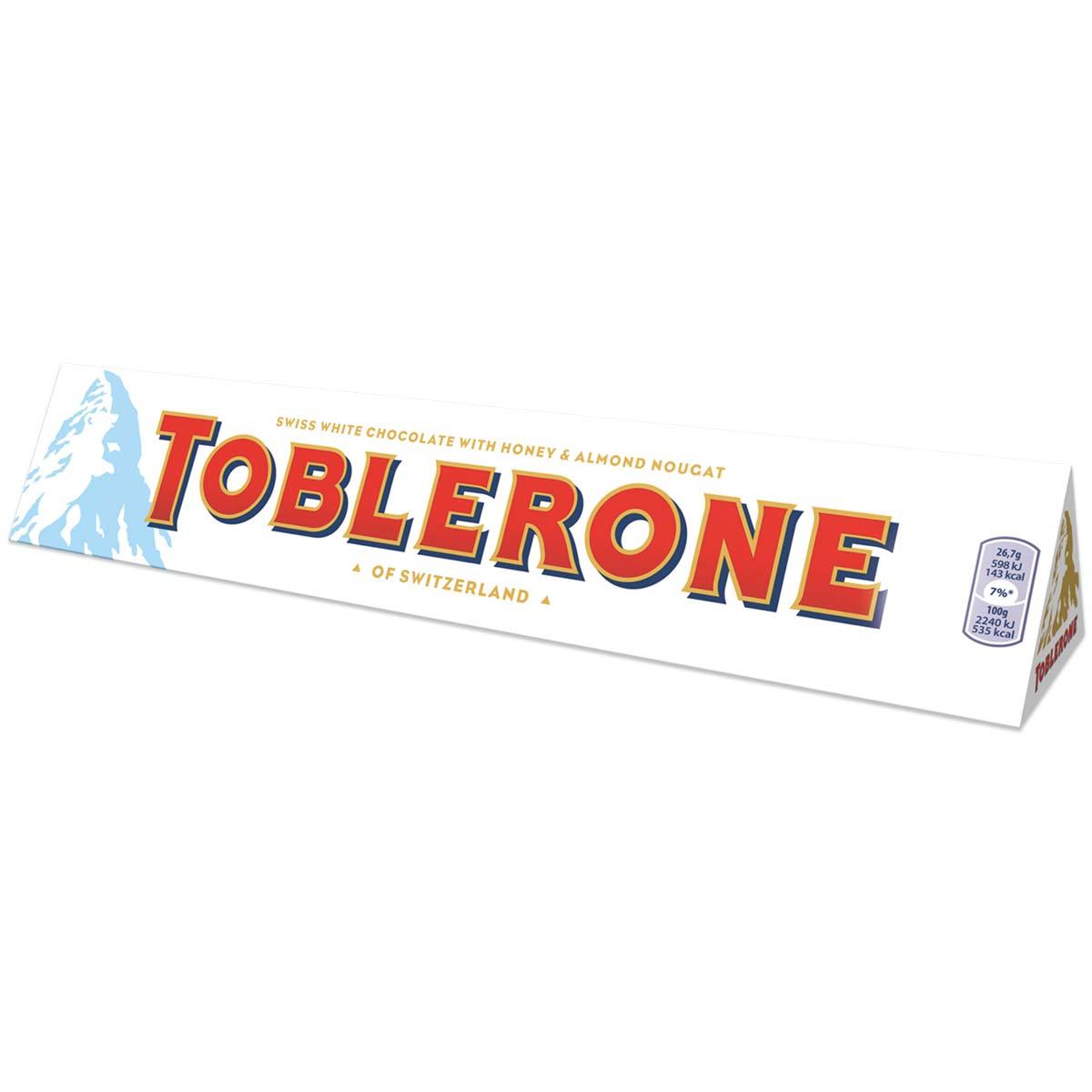 Toblerone White 360g Box of 10