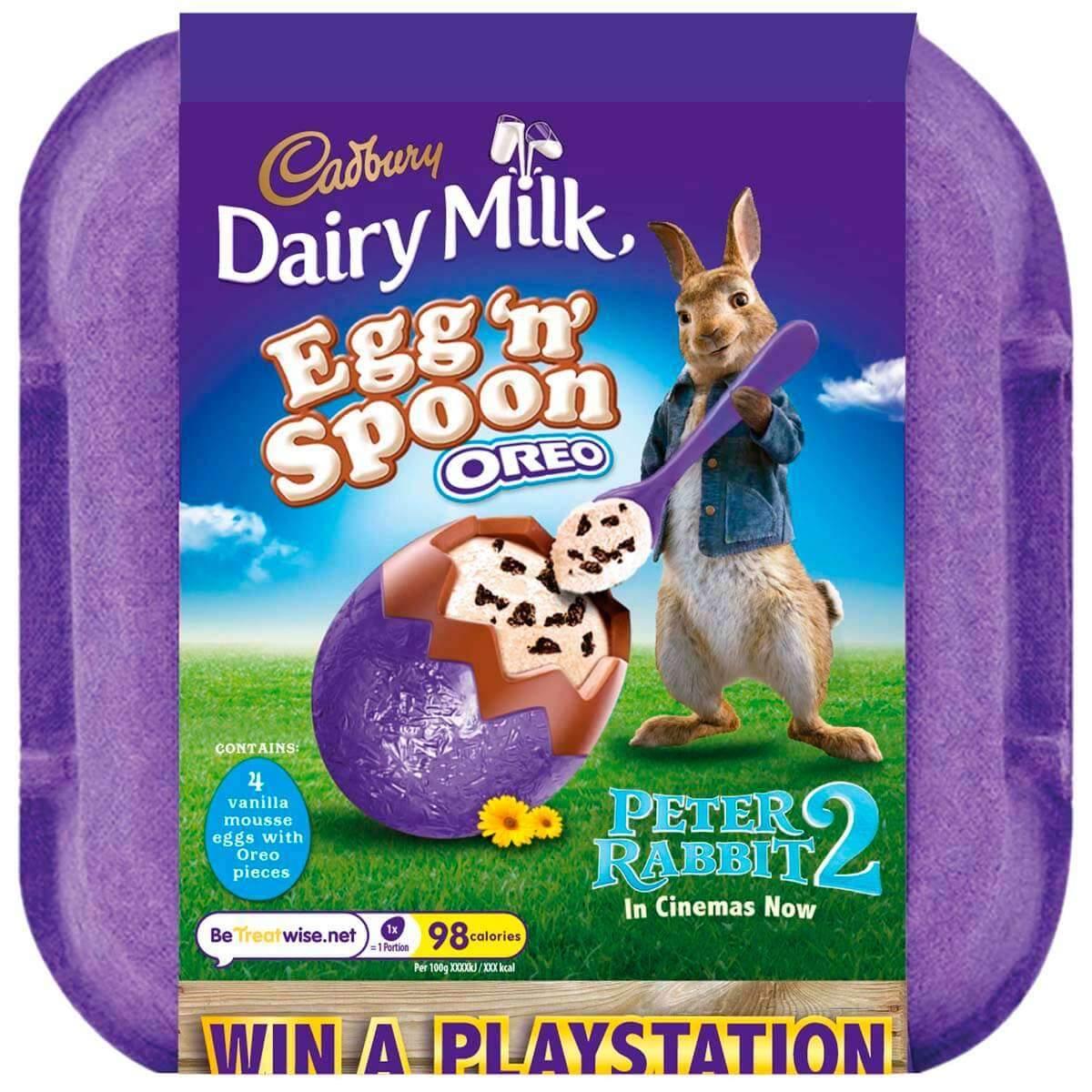 Dairy Milk Egg 'n' Spoon Oreo Box of 8