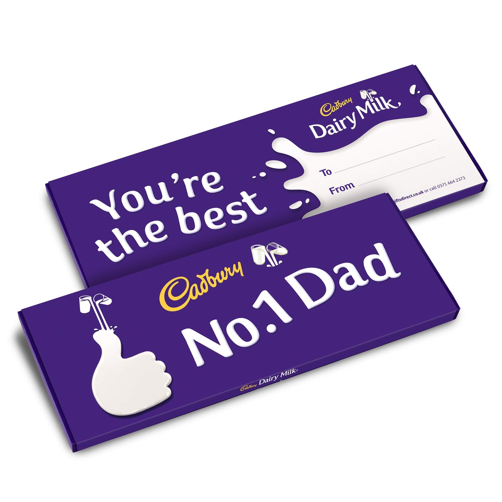 Dairy Milk No.1 Dad Bar 850g