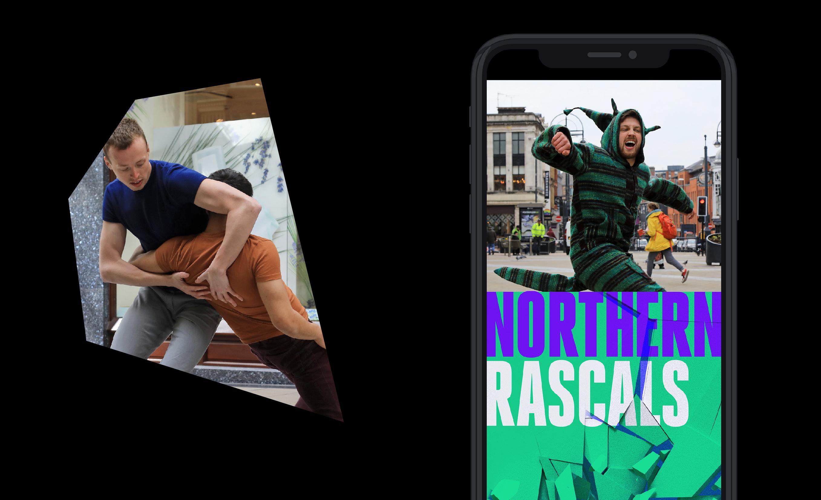 northern school of contemporary dance collide social media design