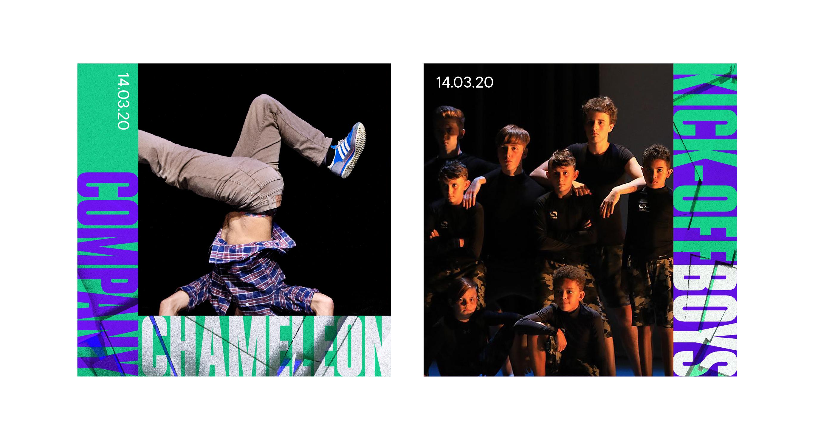 northern school of contemporary dance collide social posts