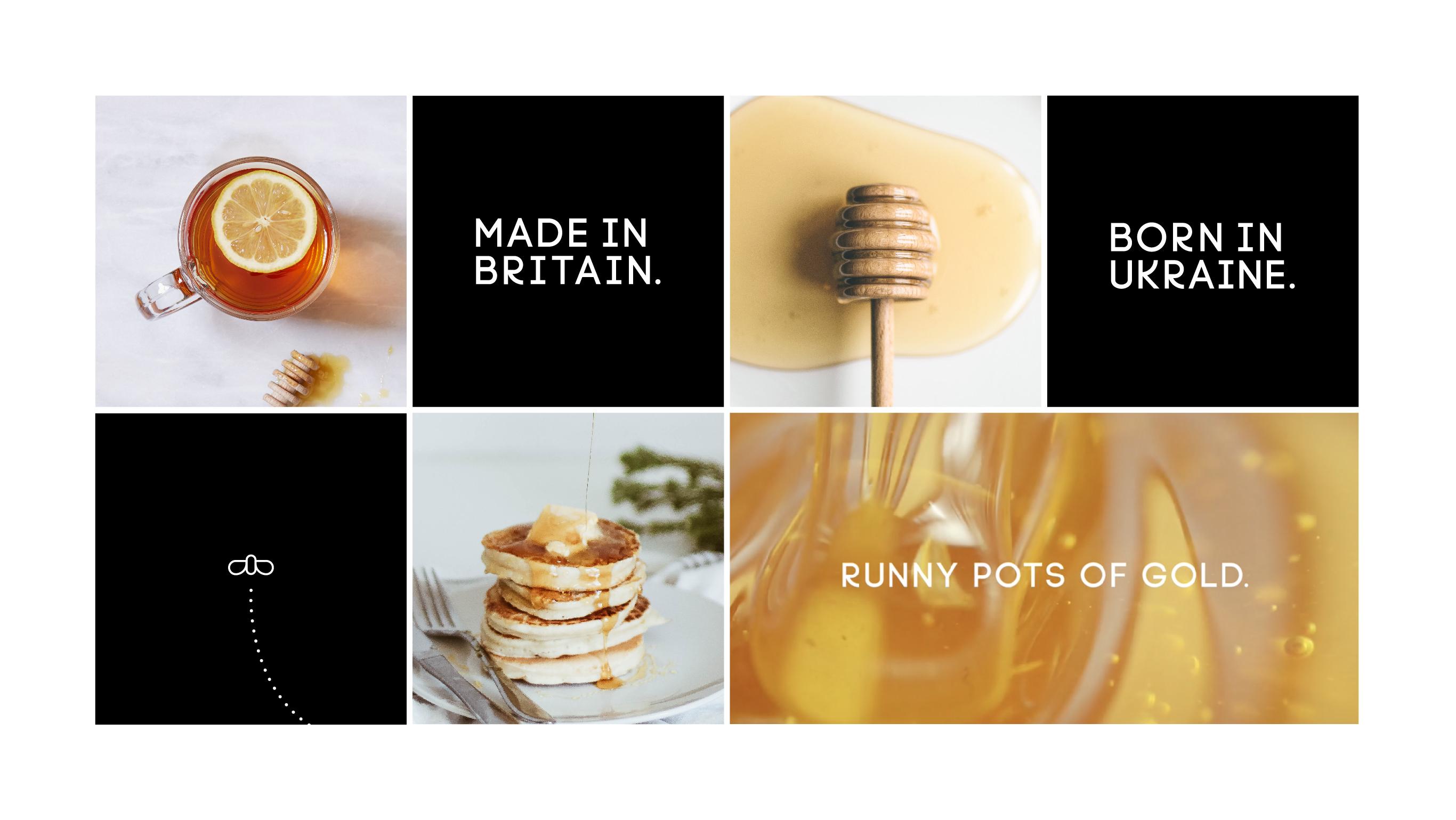 pasika honey social media posts design