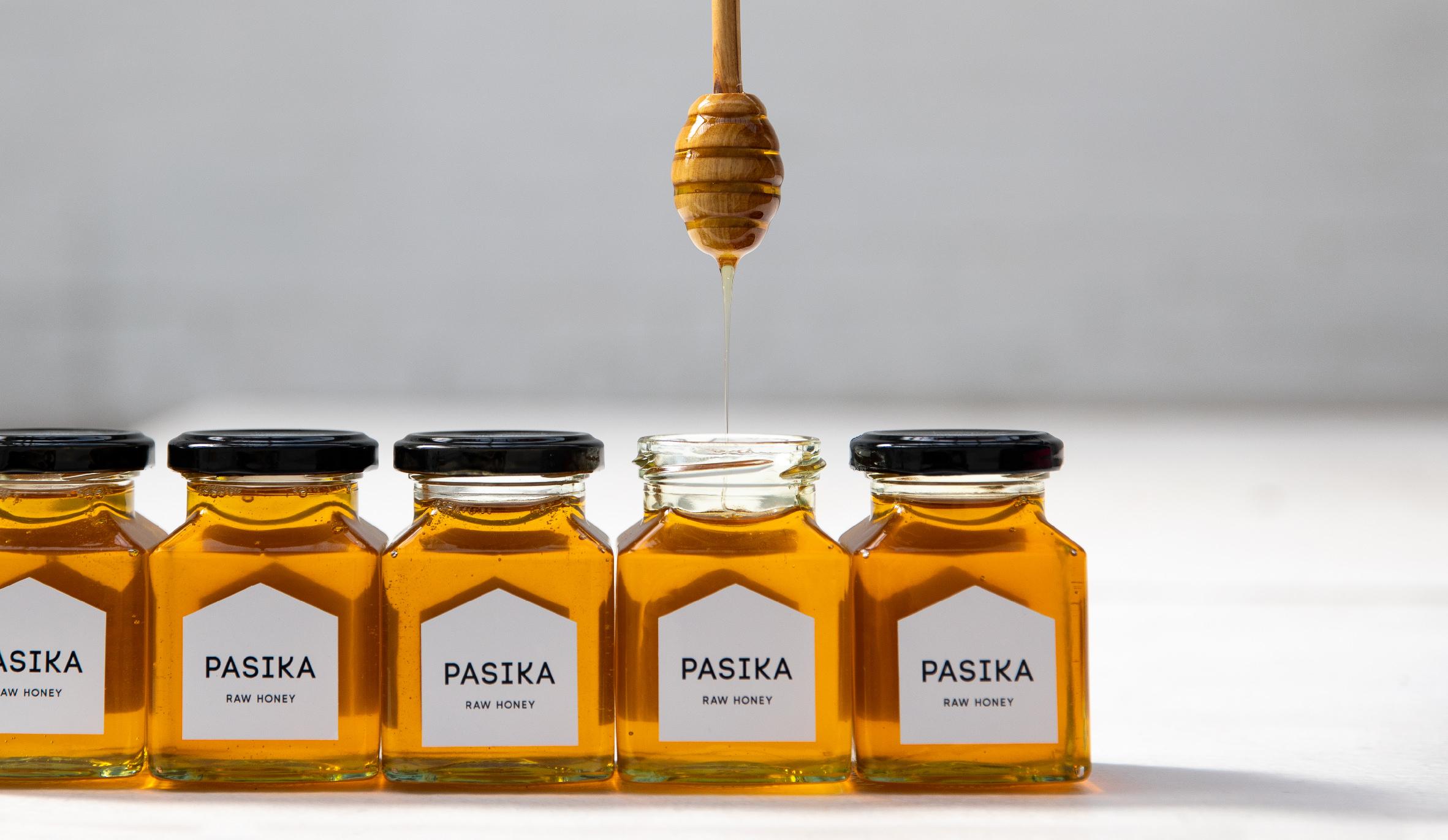 pasika jar honey packaging