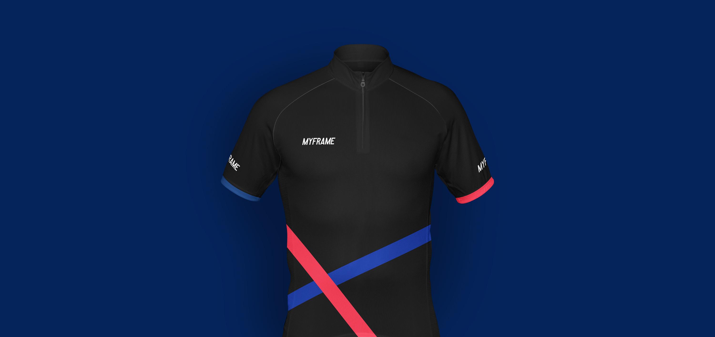 myframe jersey design
