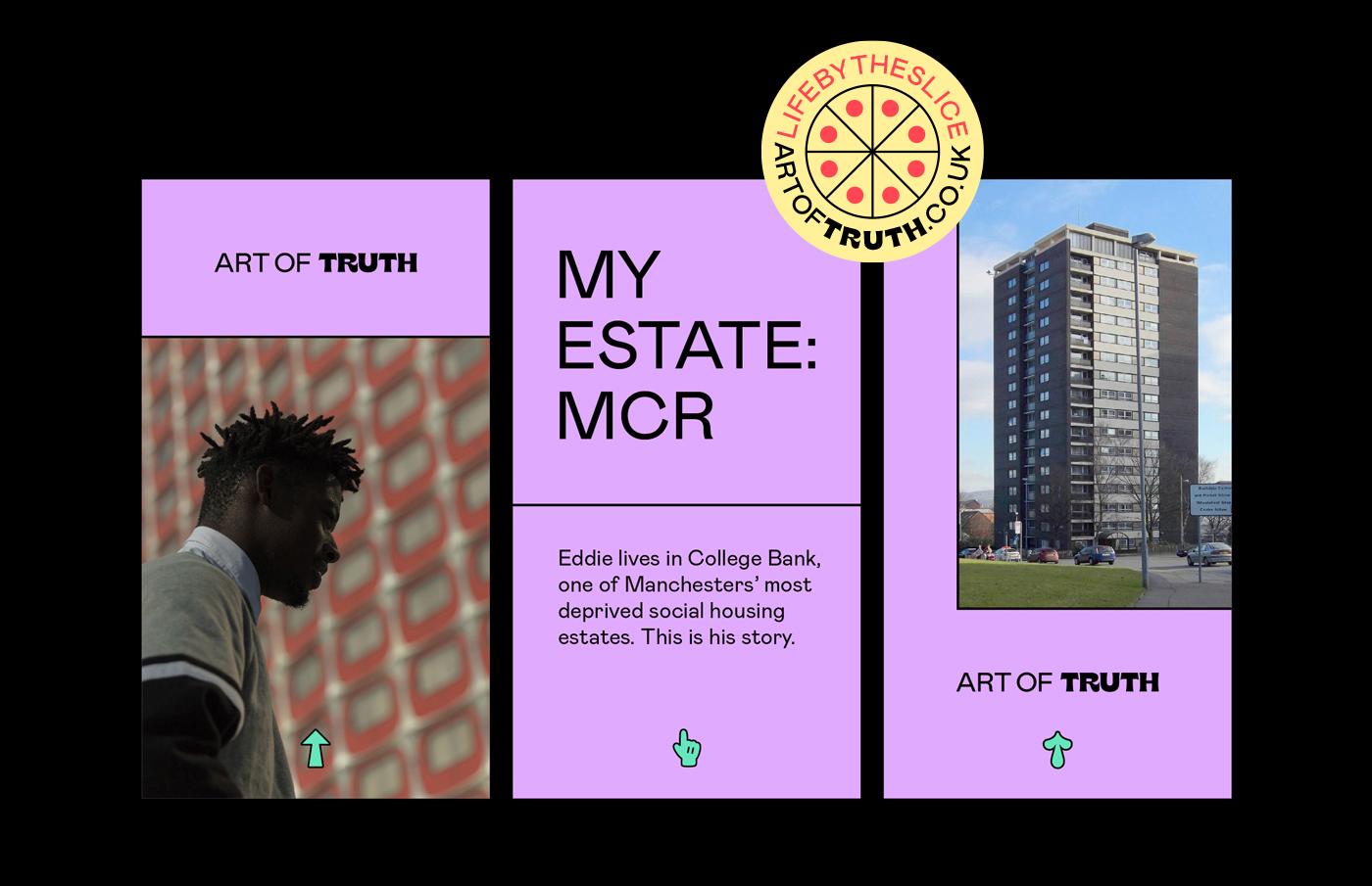 art of truth social media design