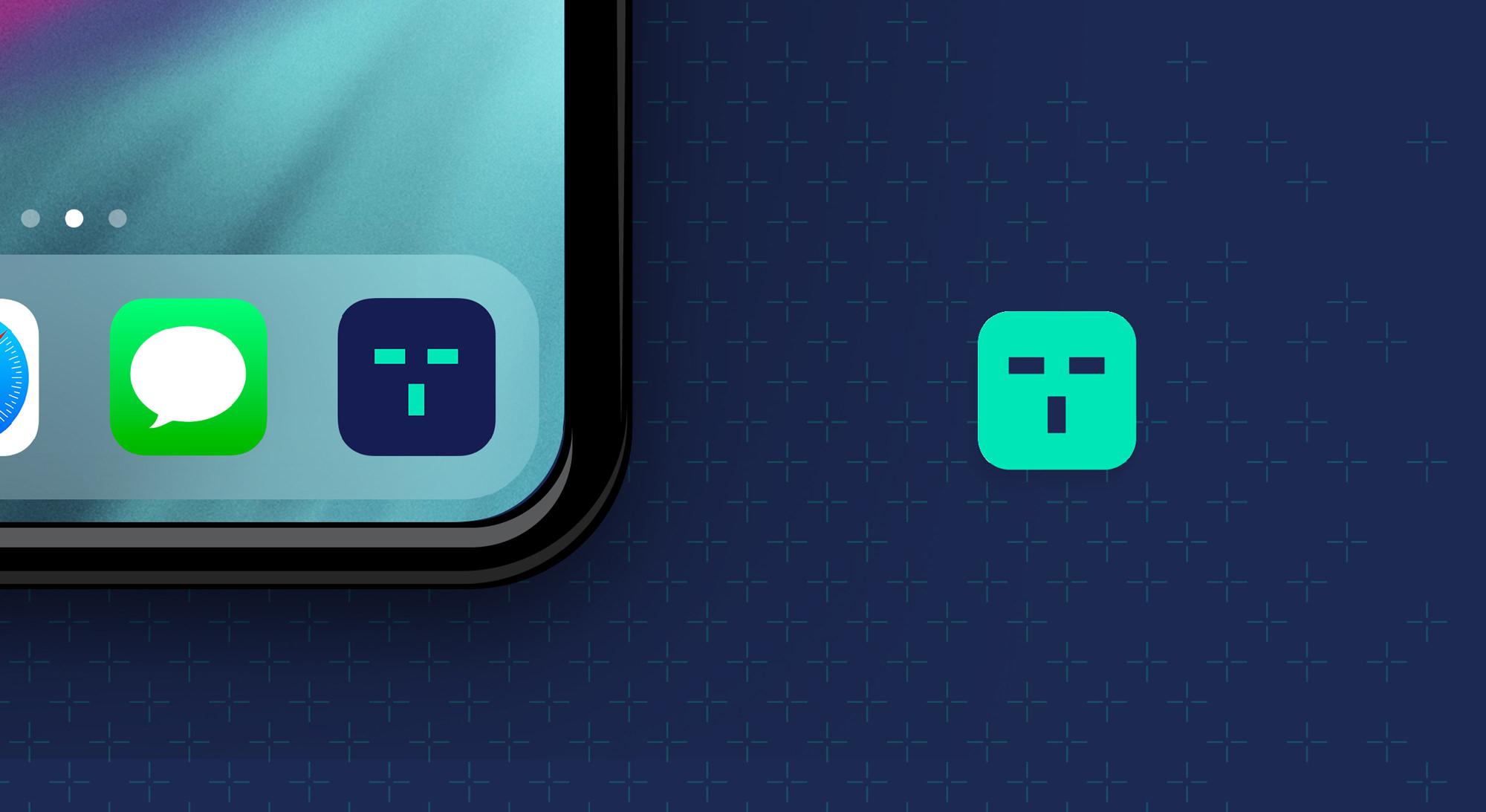 tracktest app badge design