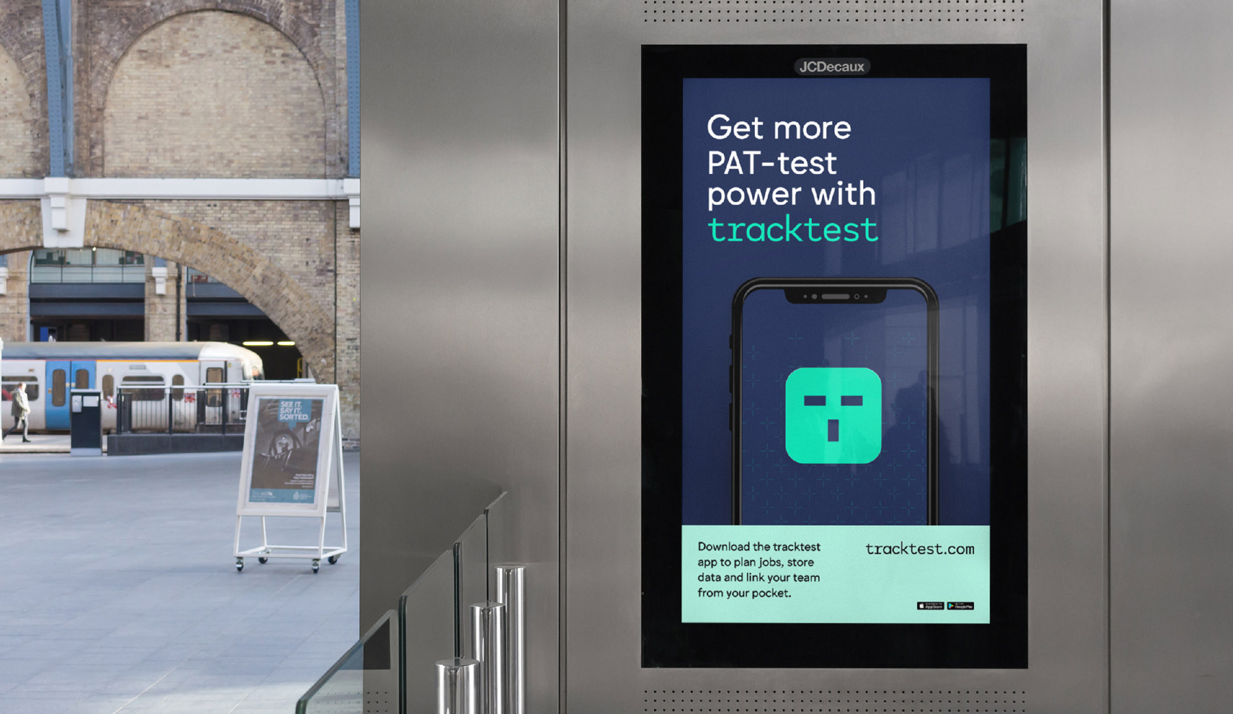 tracktest digital posters