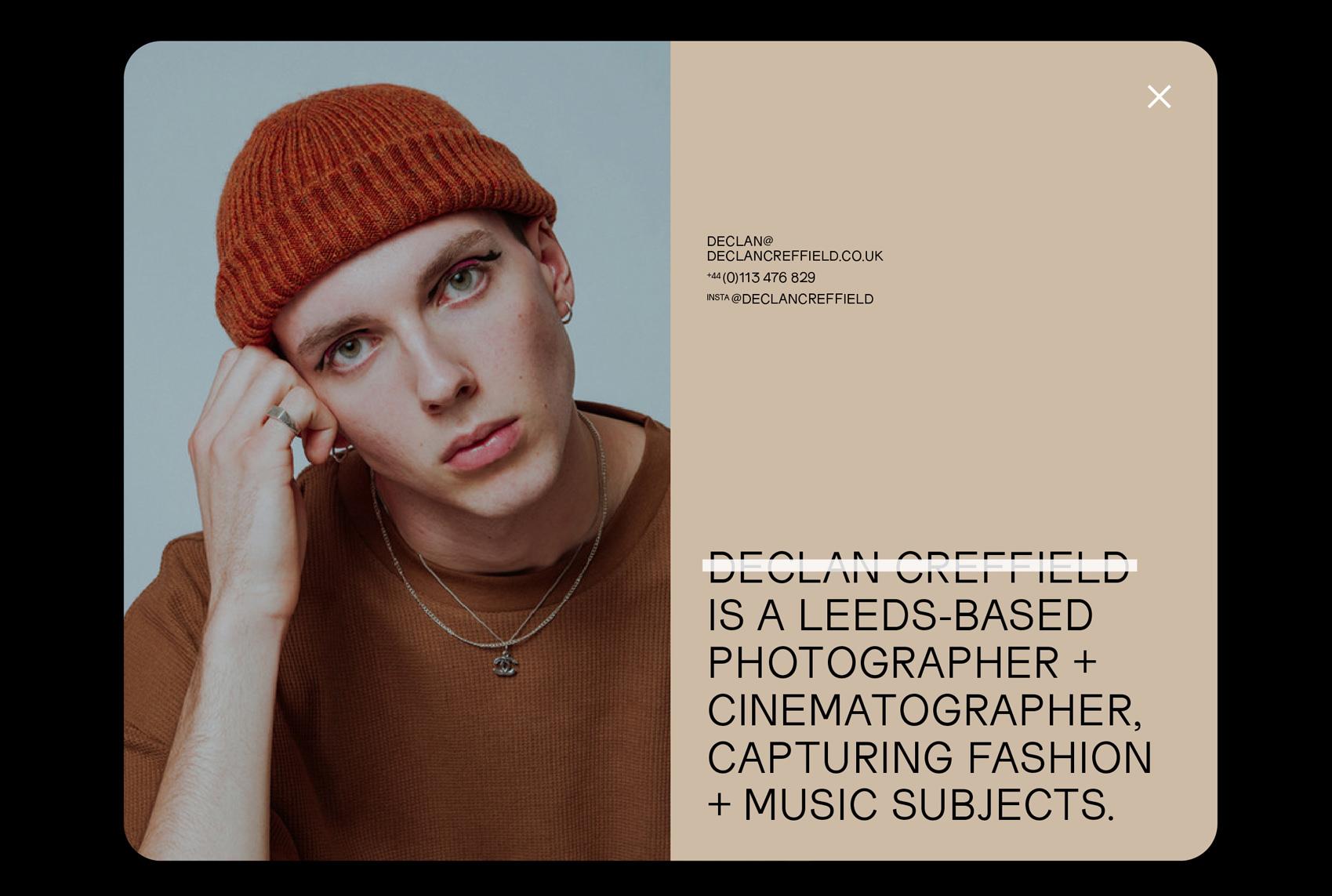 Declan Creffield website 2