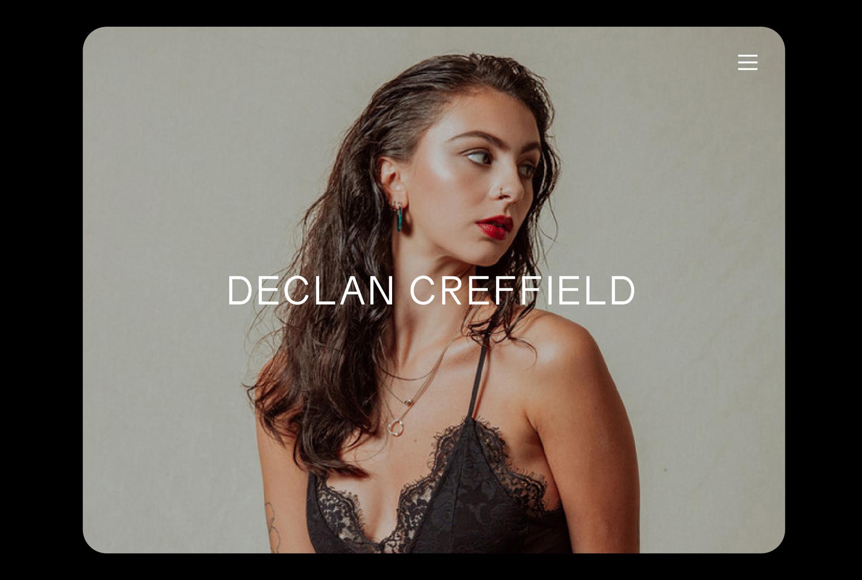 Declan Creffield website 1
