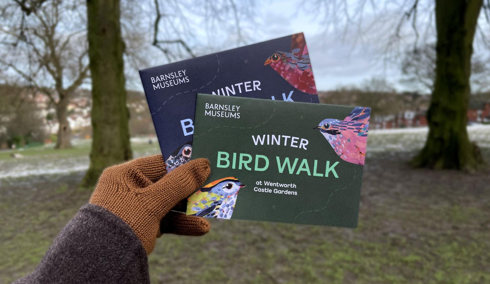 Barnsley Museums National Trust Winter Bird Walk maps