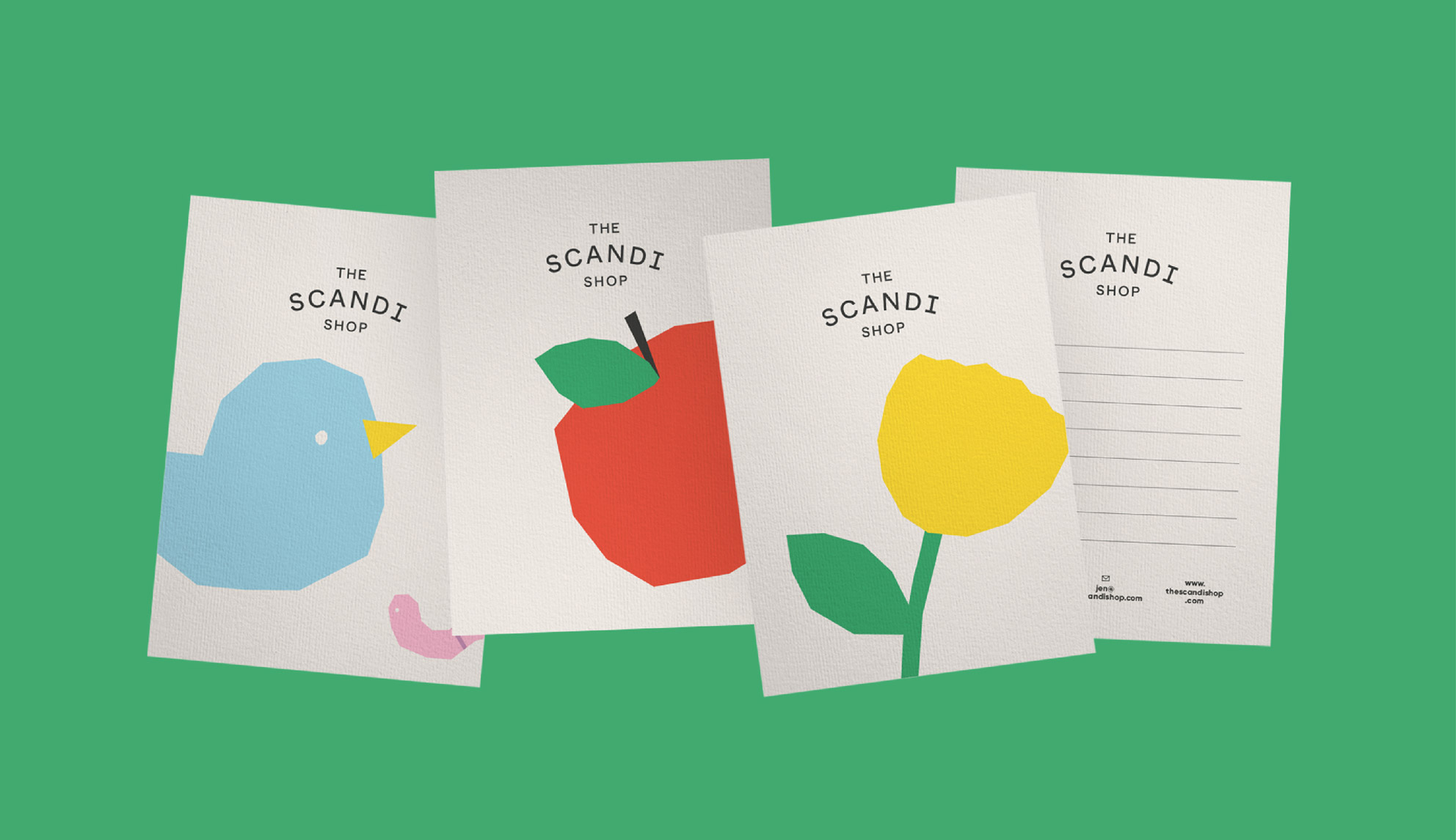 the scandi shop postcards