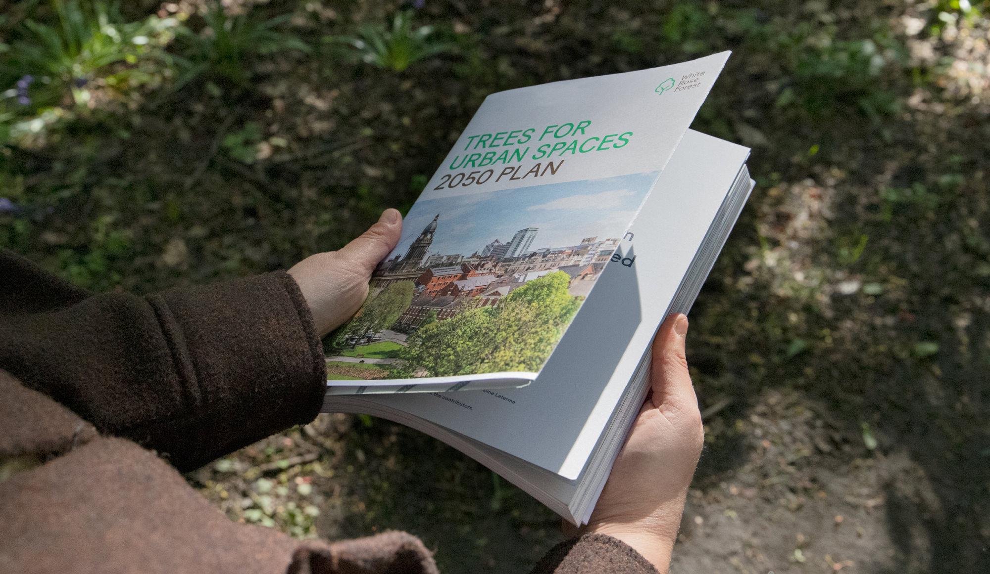 WRF printed brochure