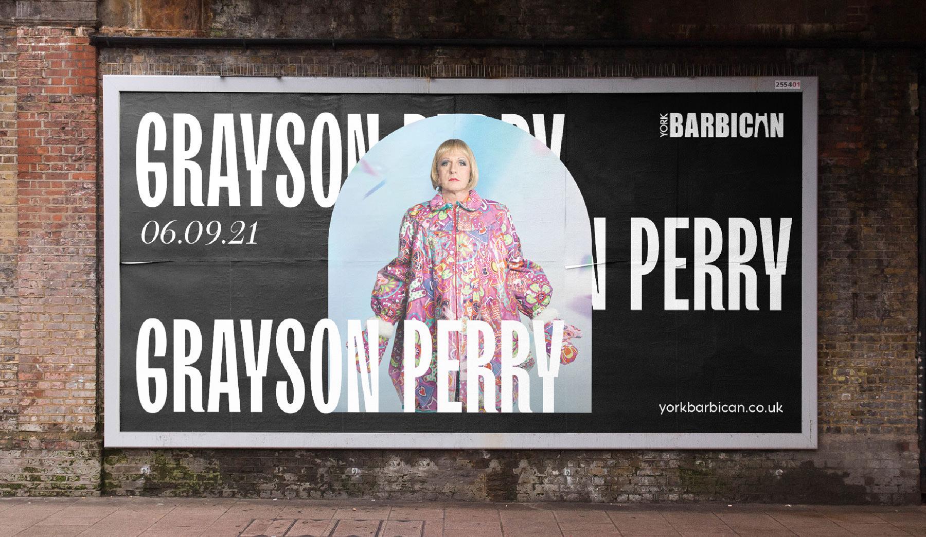 York Barbican Billboard