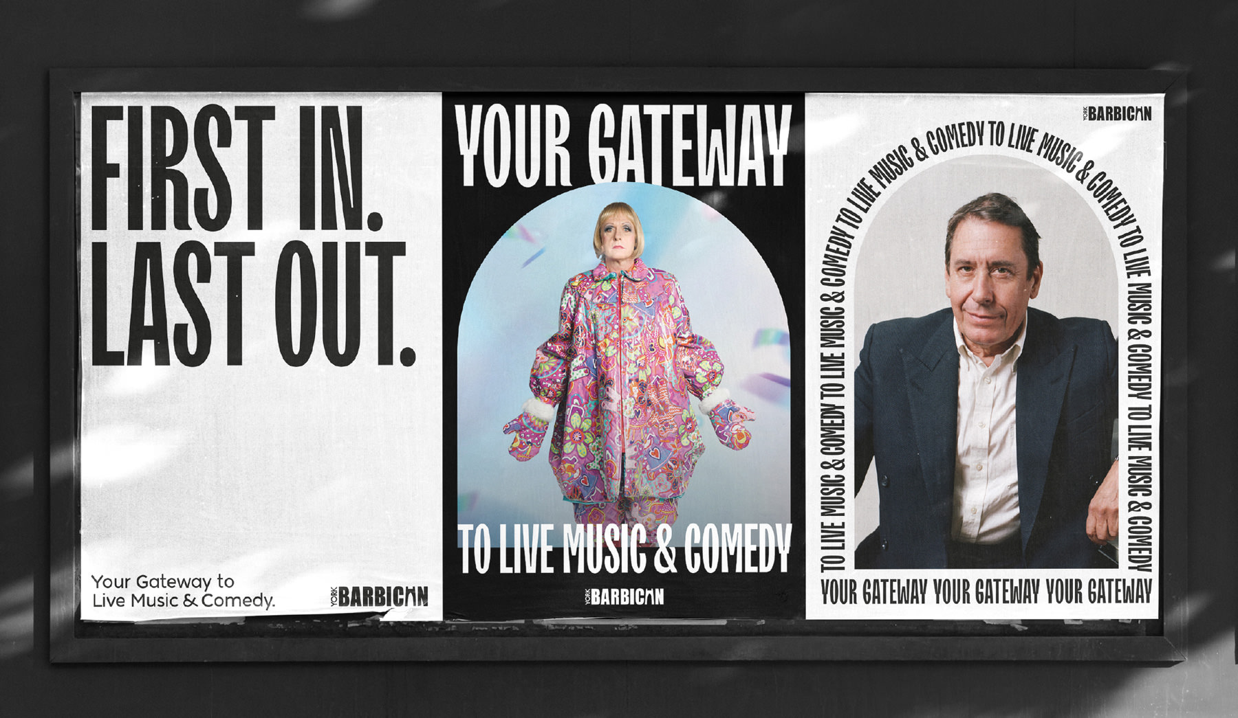 York Barbican Posters