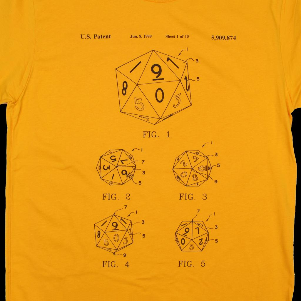 Decimal Dice Patent T-Shirt