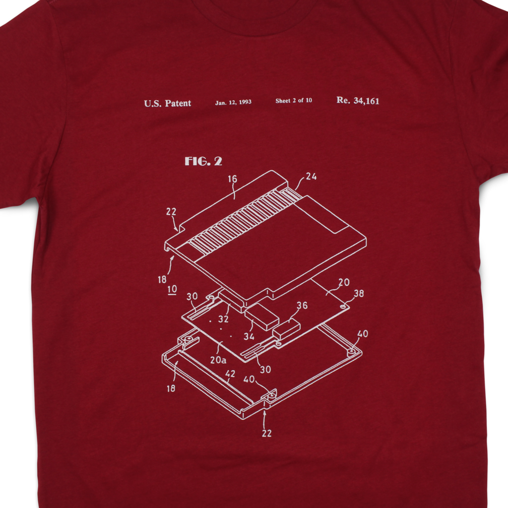 Memory Cartridge Patent T-Shirt