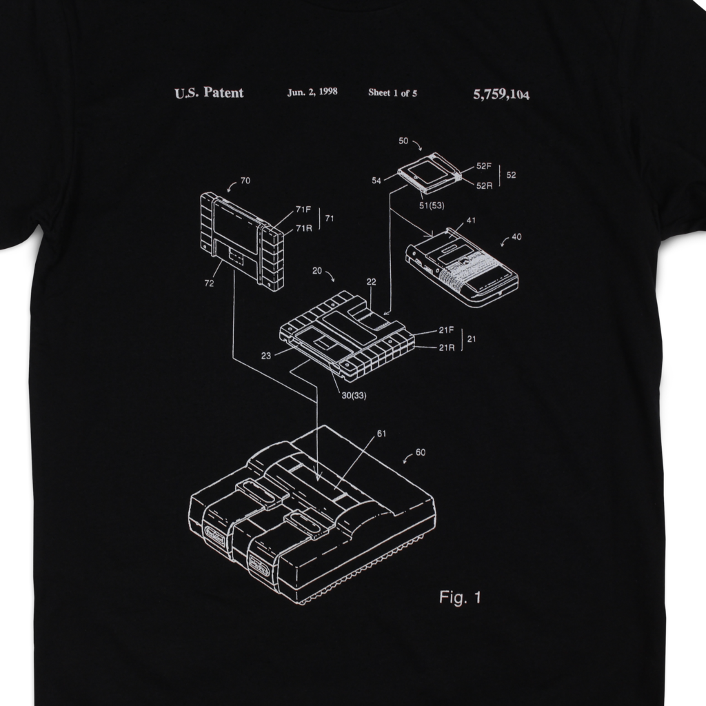 Console Patent T-Shirt