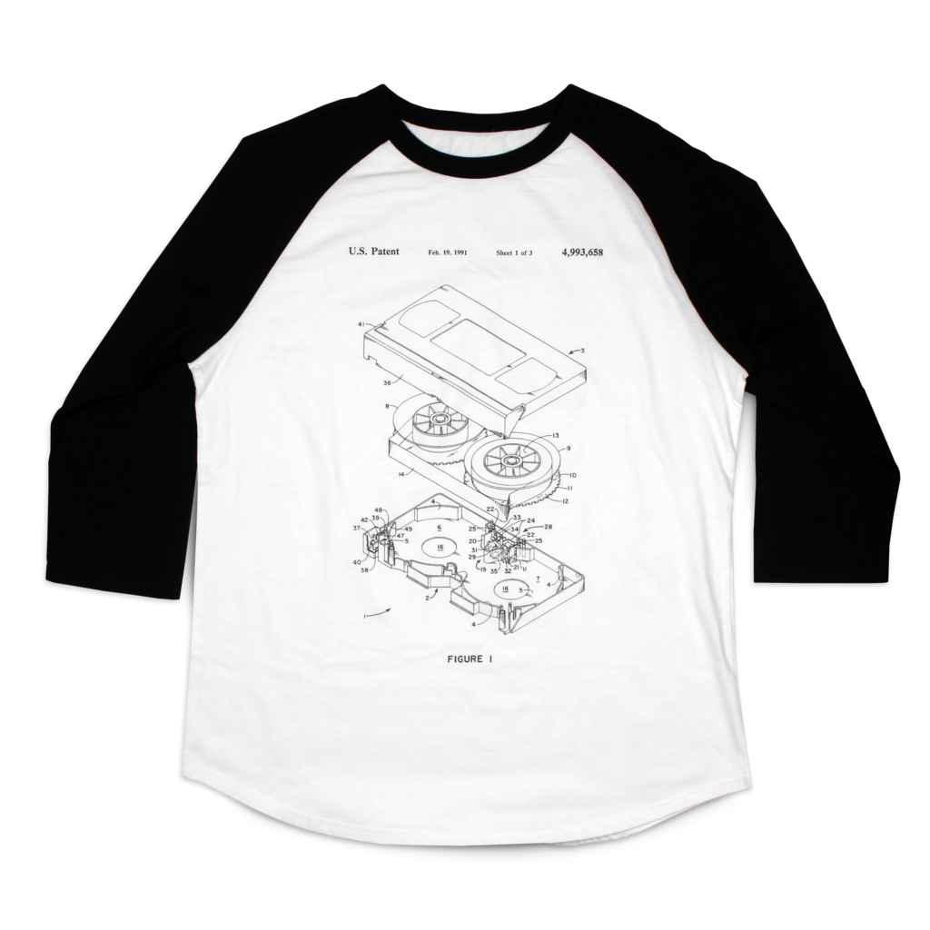Video Tape Patent Raglan