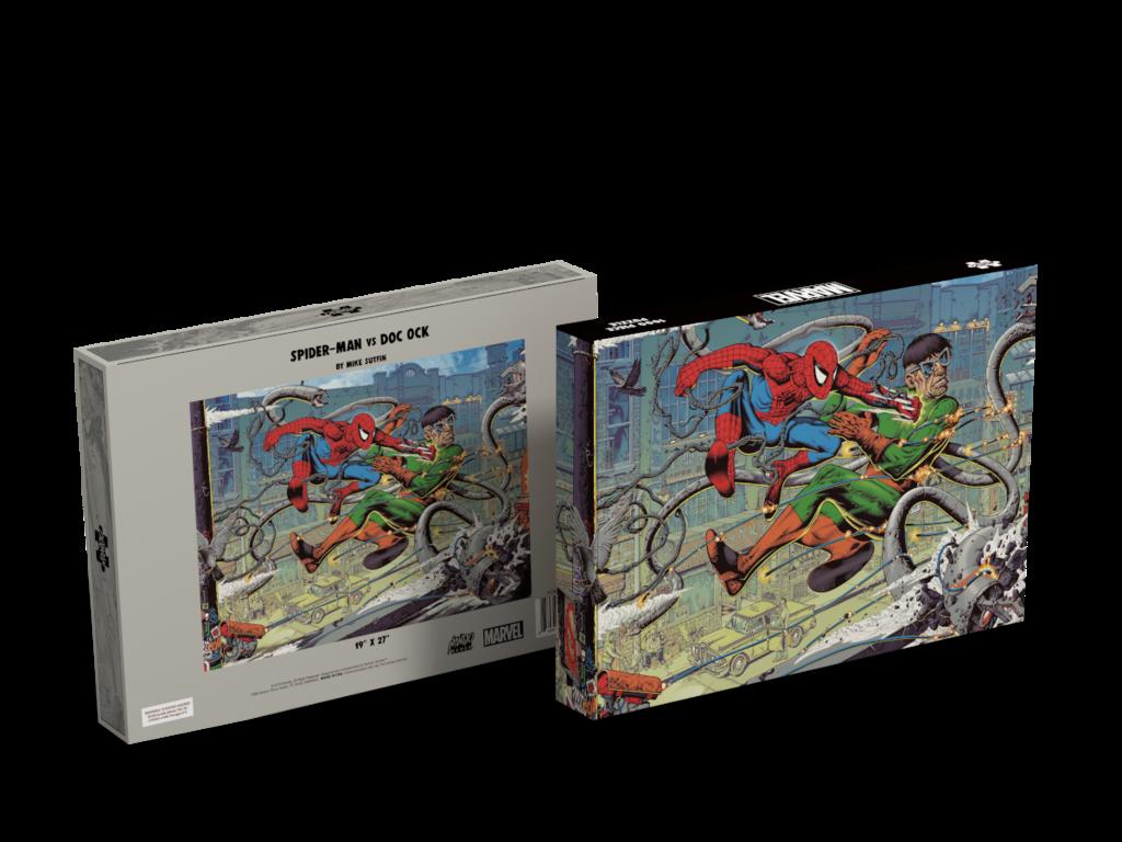 Spider-Man vs Doc Ock Puzzle