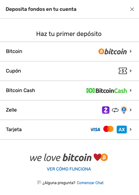 bovada deposito minimo bitcoin