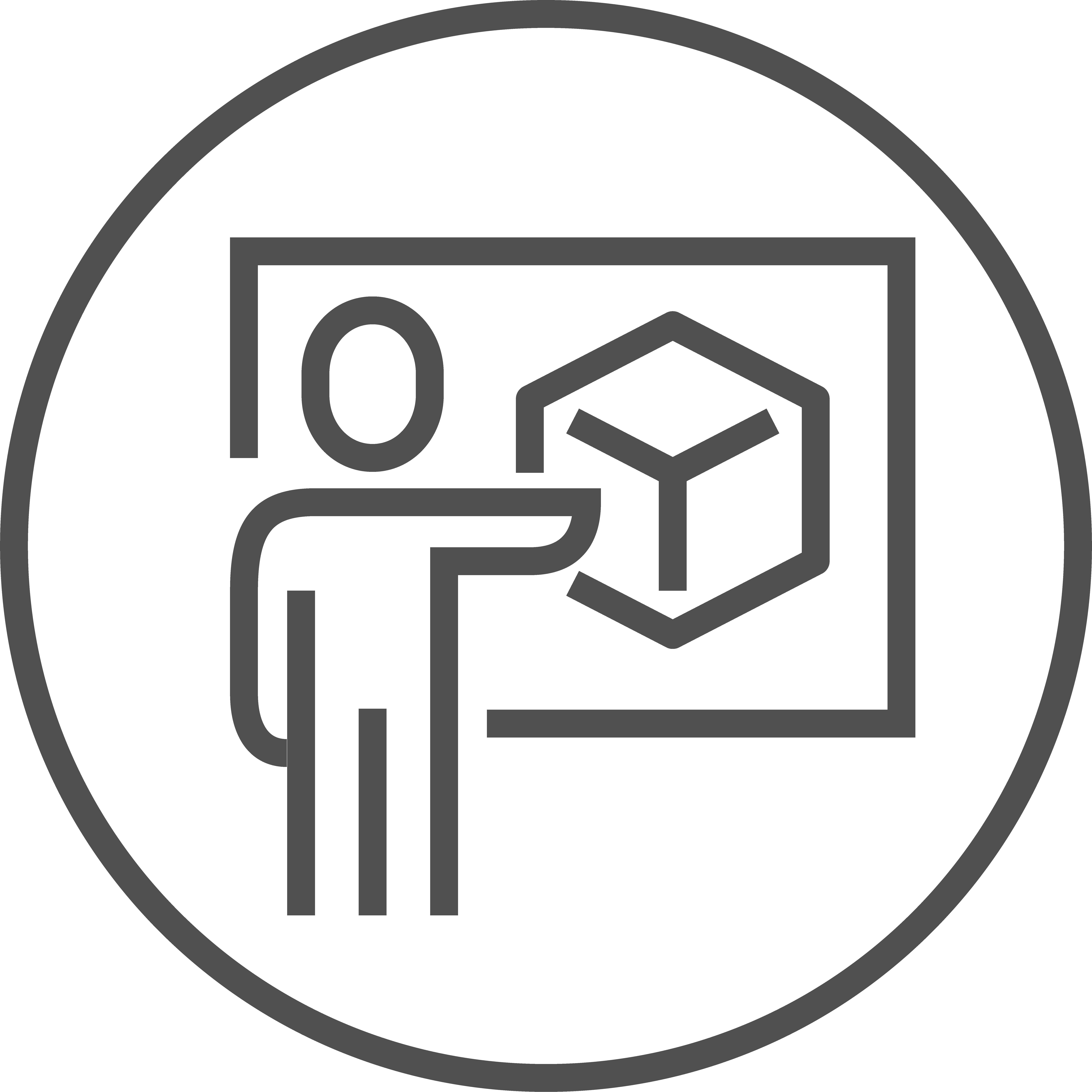 Visualisierung Icon