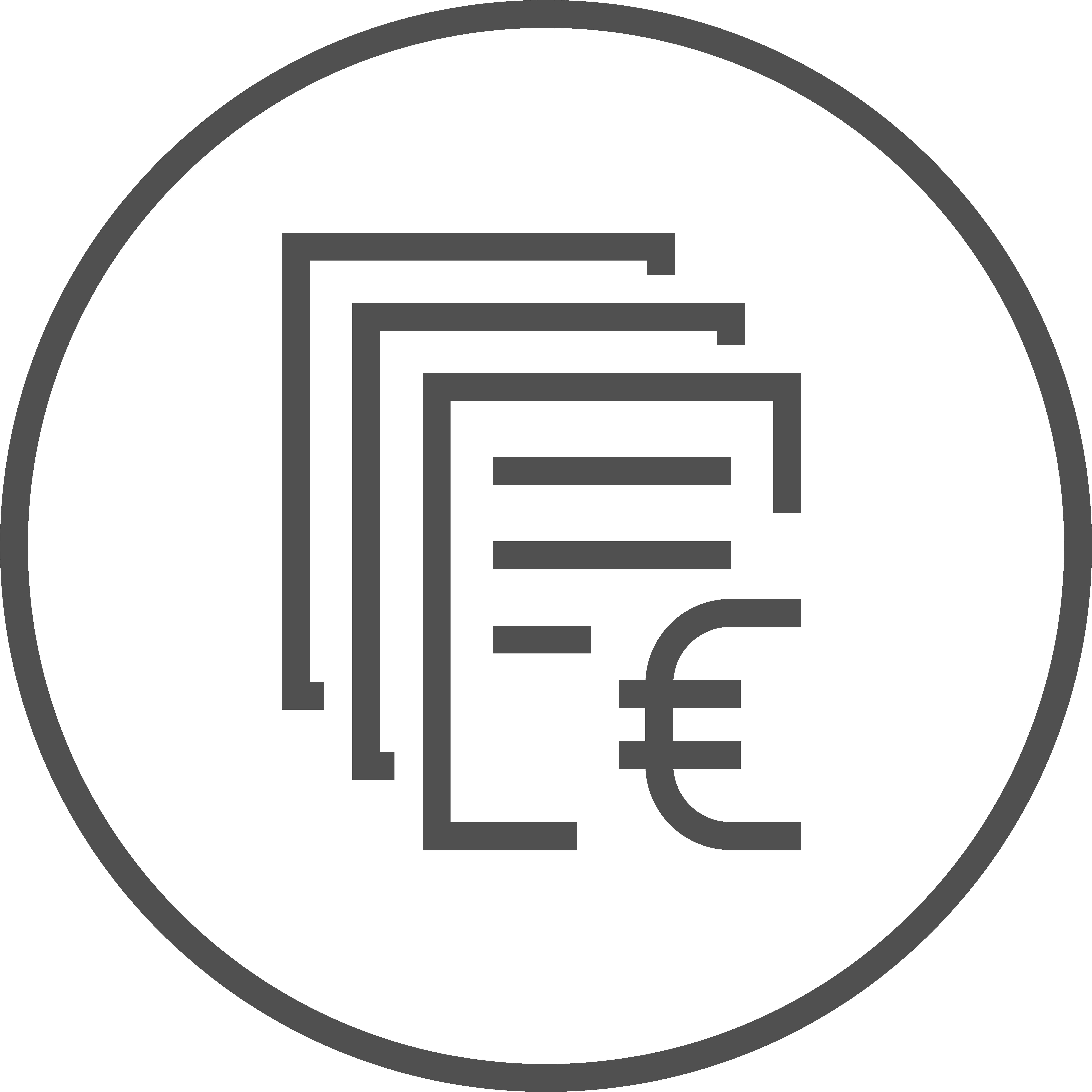 Umbaukosten Icon