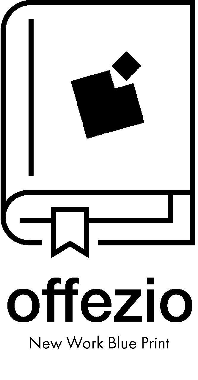 Buch mit Offezio Logo