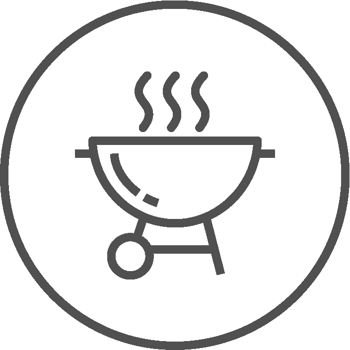 Barbecue Station Icon