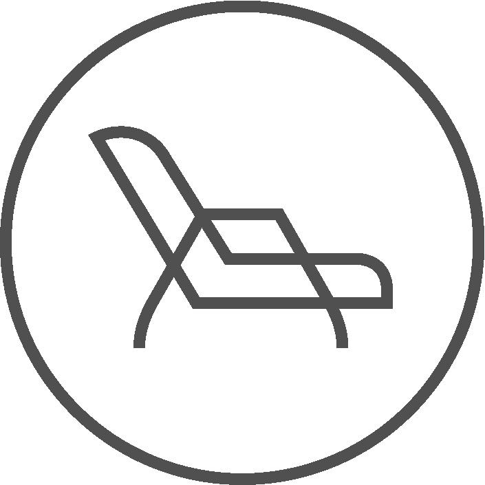 Liegestuhl Icon