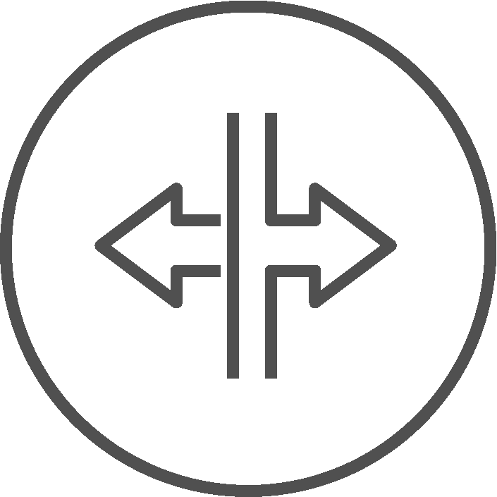 Abtrennbare Räume Icon